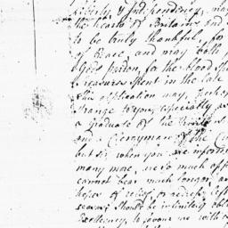 Document, 1783 October 29