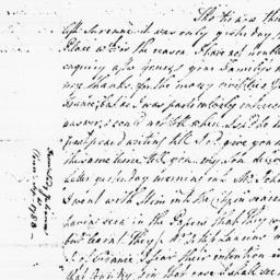 Document, 1783 September n.d.