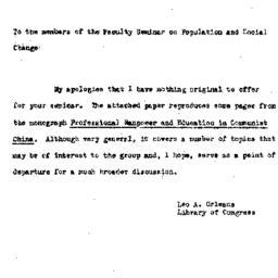 Speaker's paper, 1962-03-12...