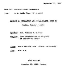 Correspondence, 1963-09-30....
