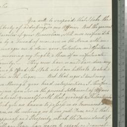 Document, 1782 November 23