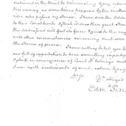 Document, 1779 October 04