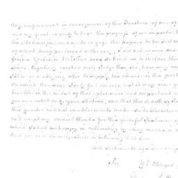 Document, 1779 September 08