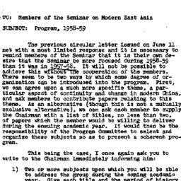 Announcements, 1958-09-26. ...