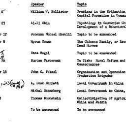 Handouts, 1965-09-24. Moder...
