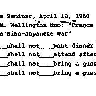 Announcements, 1968-04-10. ...