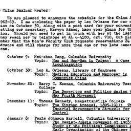 Announcements, 1968-10-17. ...