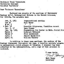 Correspondence, 1964-05-25....