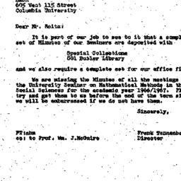 Correspondence, 1967-05-12....