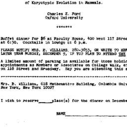 Announcements, 1974-12-10. ...