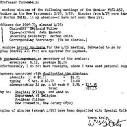 Correspondence, 1970-05-14....