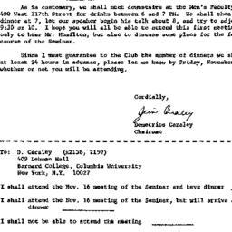 Announcements, 1971-10-25. ...