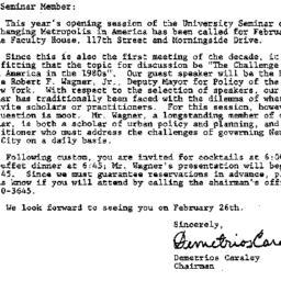 Announcements, 1980-02-15. ...