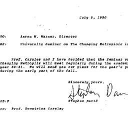 Correspondence, 1980-07-09....