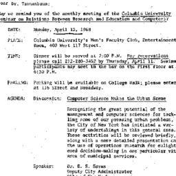 Correspondence, 1968-03-26....