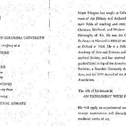 Announcements, 1973-04-02. ...
