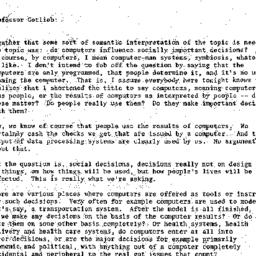 Minutes, 1974-01-09. Knowle...