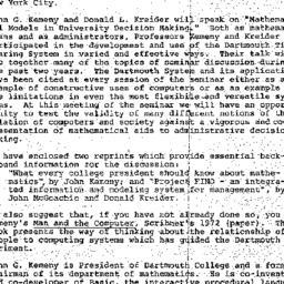 Announcements, 1975-04-03. ...
