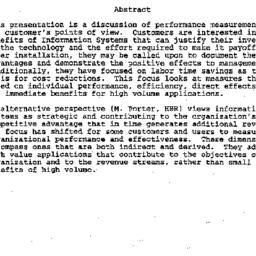 Speaker's paper, 1987-05-21...