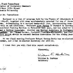 Correspondence, 1965-06-03....