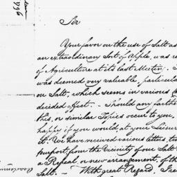 Document, 1796 March 14