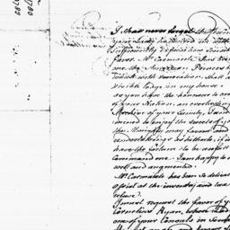 Document, 1783 October 12