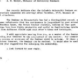Correspondence, 1979-11-12....