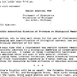Announcements, 1986-01-04. ...