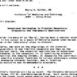 Announcements, 1985-12-04. ...