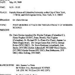 Announcements, 2000-05-10. ...