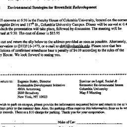 Announcements, 1999-05-05. ...