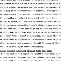 Speaker's notes, 1973-02-01...