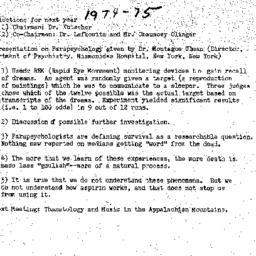 Minutes, 1974-04-10. Death,...