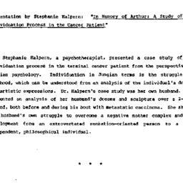 Minutes, 1982-04-28. Death,...