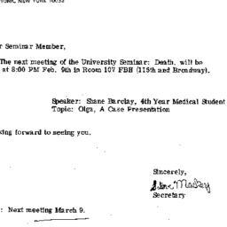 Announcements, 1983-02-09. ...