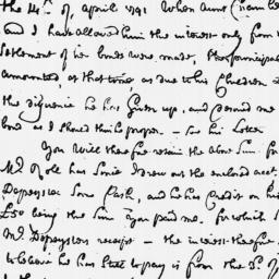 Document, 1792 November 30