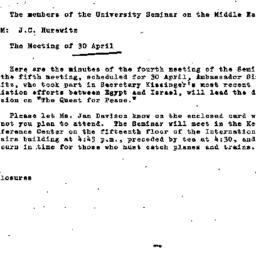 Announcements, 1975-04-02. ...