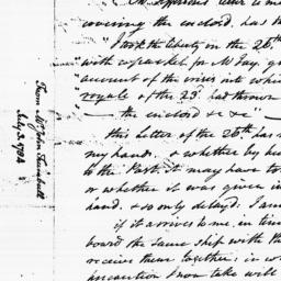 Document, 1784 July 03