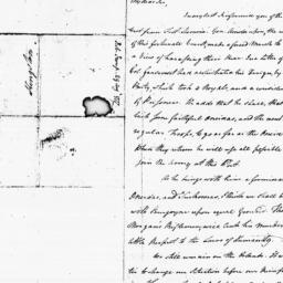 Document, 1777 August 29