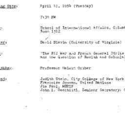 Minutes, 1984-04-10. Twenti...