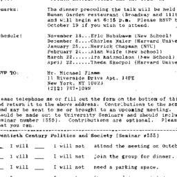 Announcements, 1992-09-24. ...
