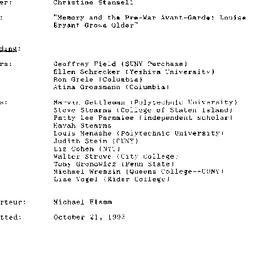 Minutes, 1993-10-14. Twenti...
