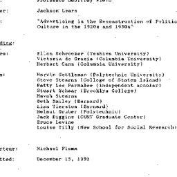 Minutes, 1993-12-08. Twenti...