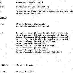 Minutes, 1995-03-01. Twenti...