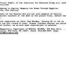 Announcements, 2000-01-21. ...