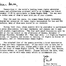 Correspondence, 1986-10-31....
