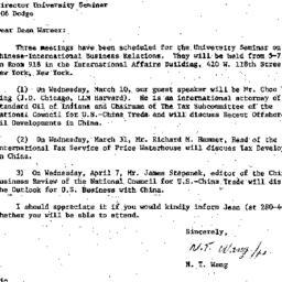 Correspondence, 1982-03-05....