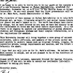 Correspondence, 1984-07-21....