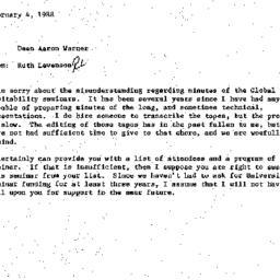 Correspondence, 1986-02-04....