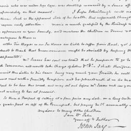 Document, 1820 May 02